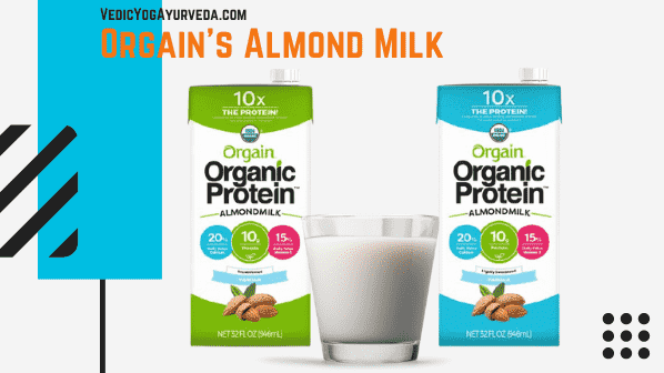 Organic Protein ™ Almond Milk with Protein Powder